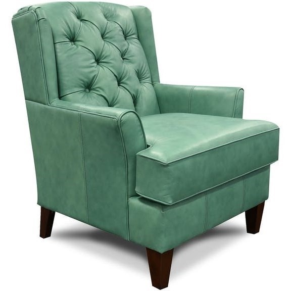 England CeliaLeather Wing Chair