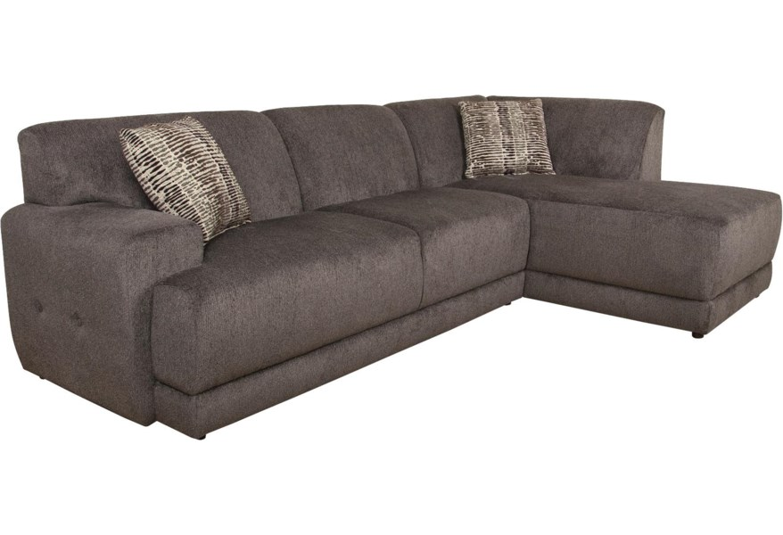 Cole Sectional Sofa with Right Facing Chaise