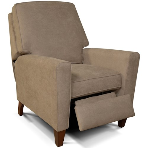 England Collegedale Living Room Motion Chair with Wooden Legs