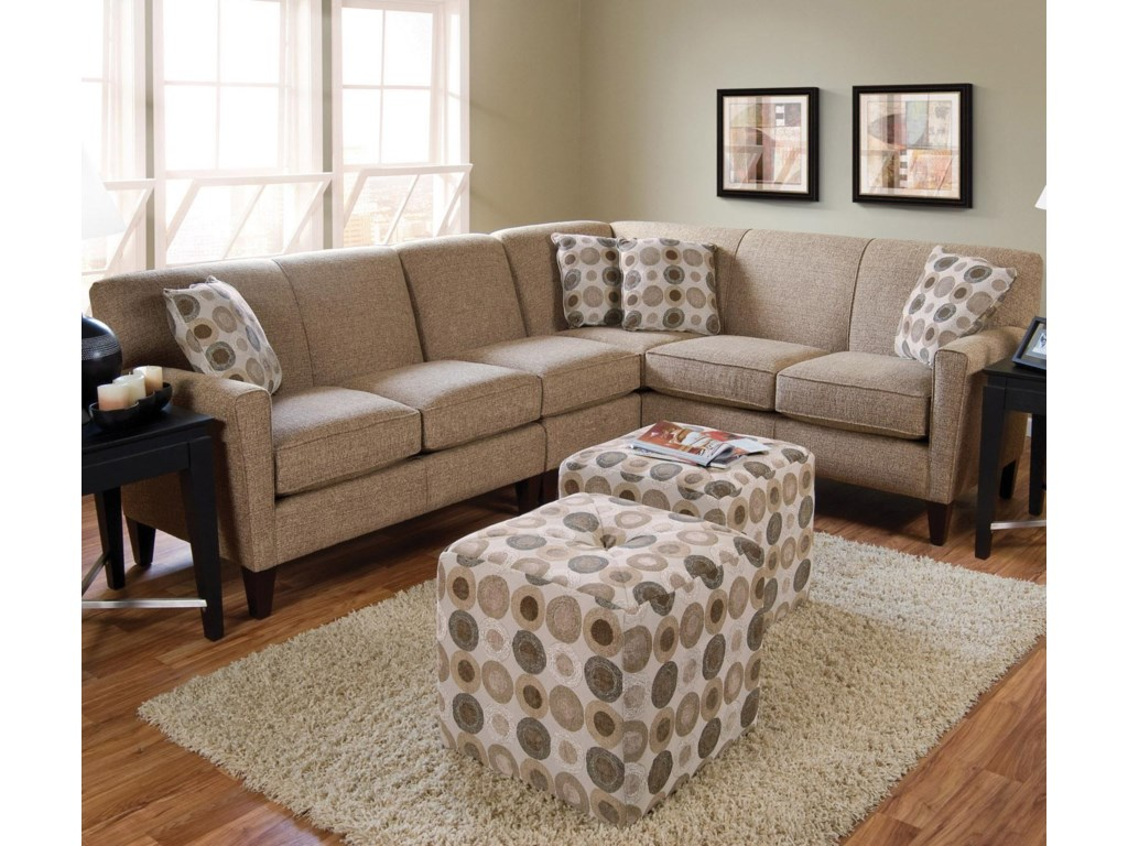 England CollegedaleContemporary Sectional
