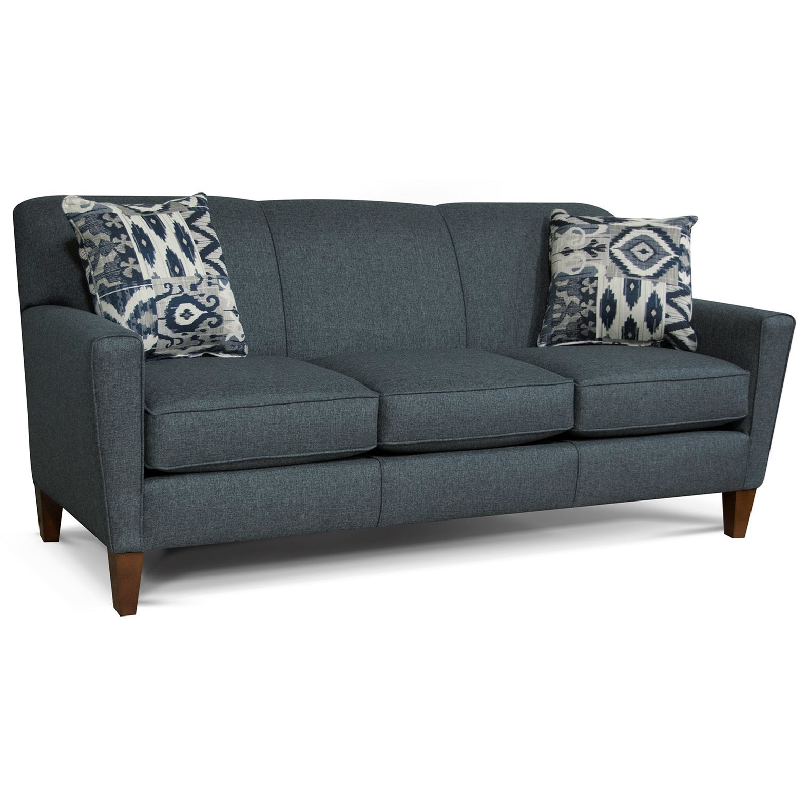 Collegedale Contemporary Upholstered Sofa By England At Goffena Furniture Mattress Center