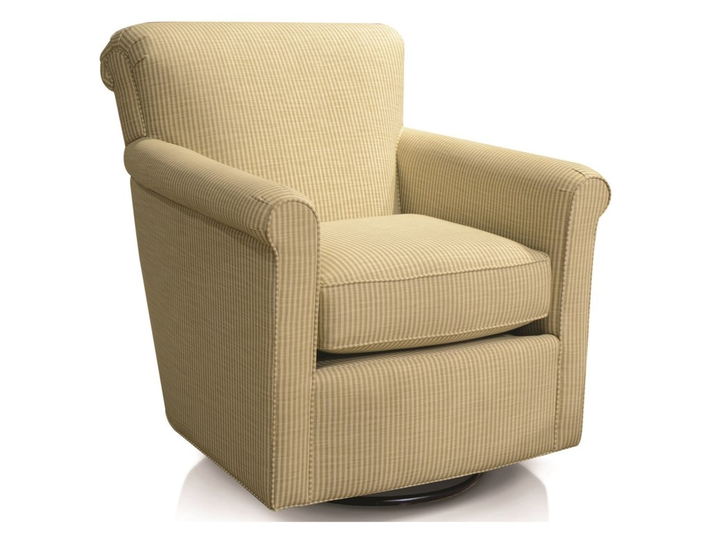 England CunninghamRolled Back Swivel Chair