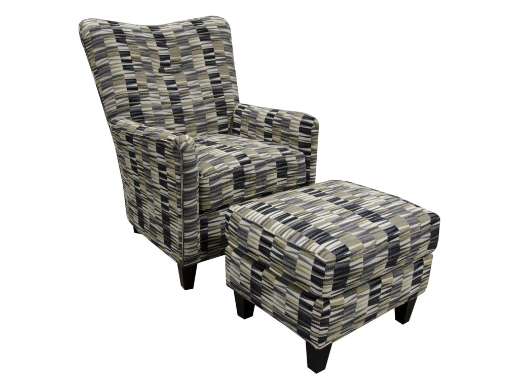 England DaughtryChair and Ottoman