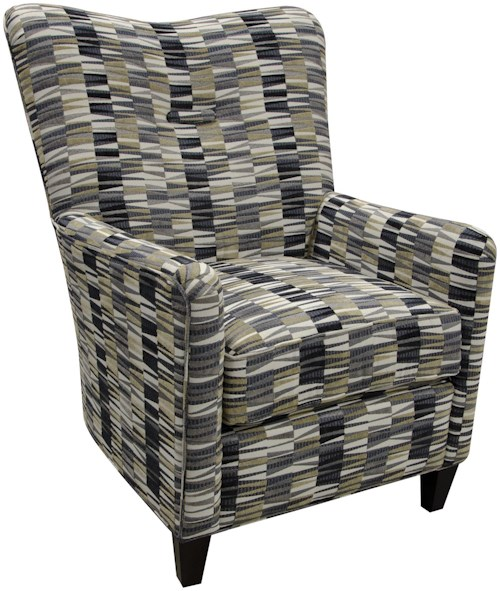 England Daughtry Arm Chair with Contemporary Style