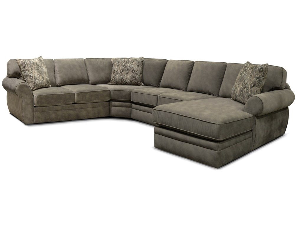 England Dolly4-Piece Stationary Sectional