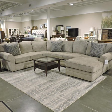 4-Piece Stationary Sectional