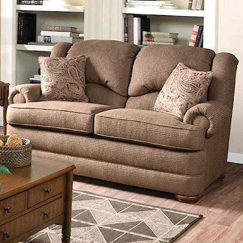 England Drake Upholstered Love Seat