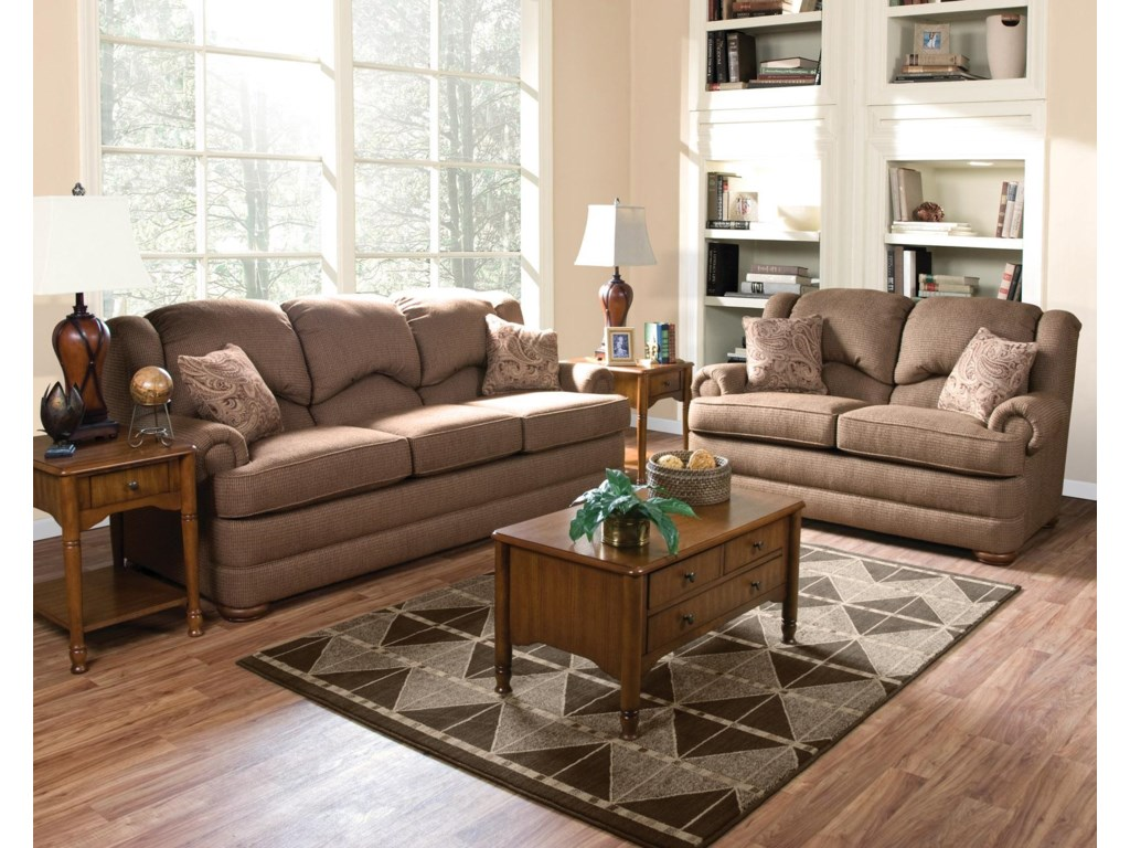 Shown with Coordinating Loveseat. Sofa Shown May Not Represent Exact Features Indicated.