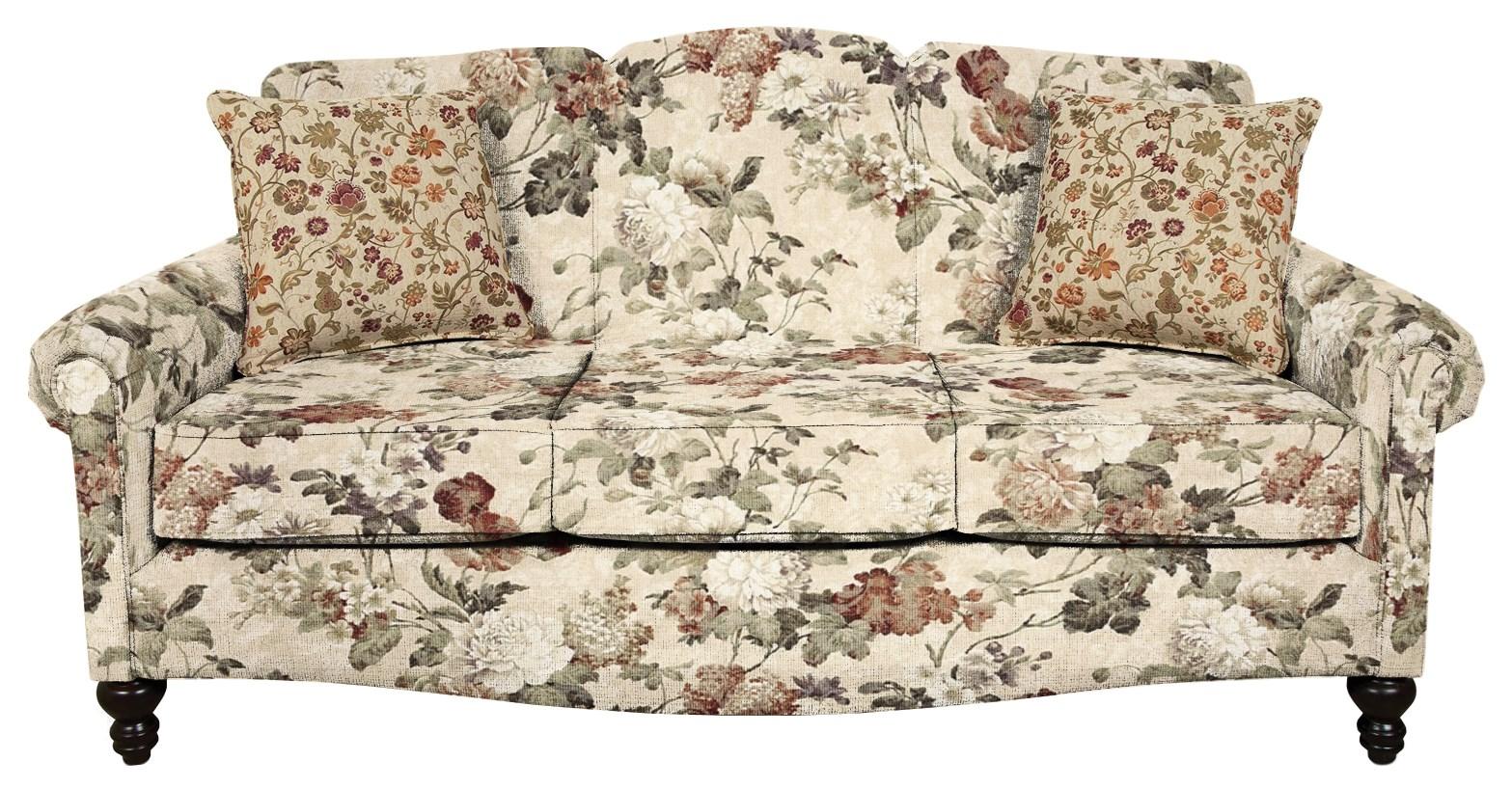 England Eliza Traditionanl Upholstered Sofa   Virginia Furniture Market    Sofa