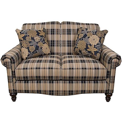 England Eliza Traditional Upholstered Loveseat