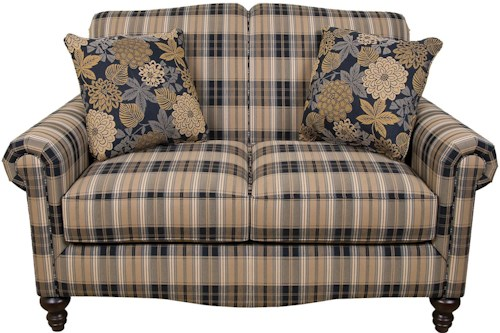England Eliza Traditional Upholstered Loveseat