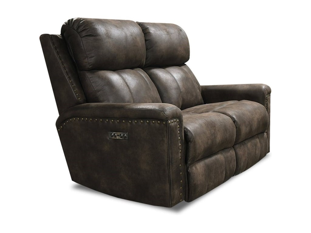 England EZ1C00Power Double Reclining Loveseat w/ Nails