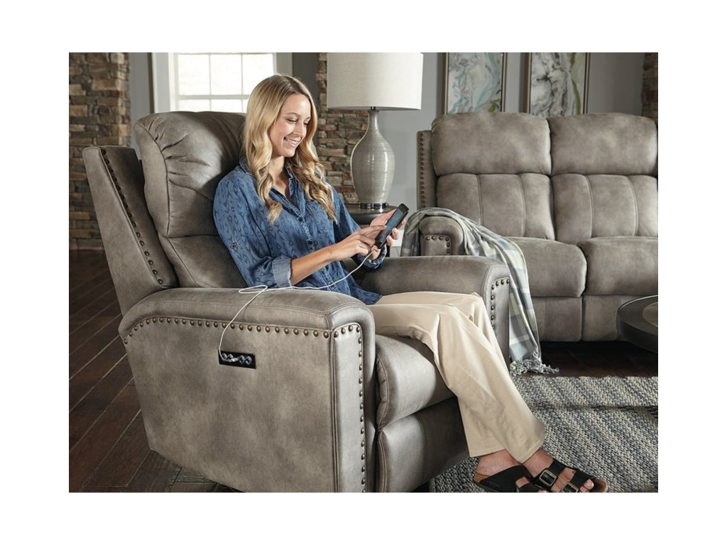 England EZ1C00Minimum Proximity Wall Recliner w/ Nails