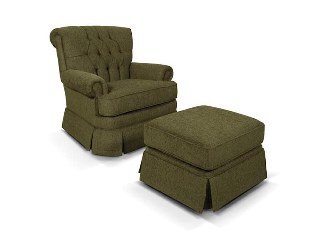 England FernwoodRollback Upholstered Chair