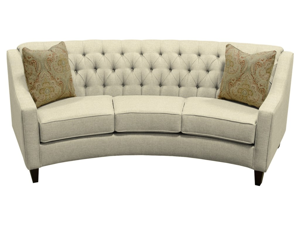 Circular Loveseat Sofa 83 Off Bob S Furniture Grey