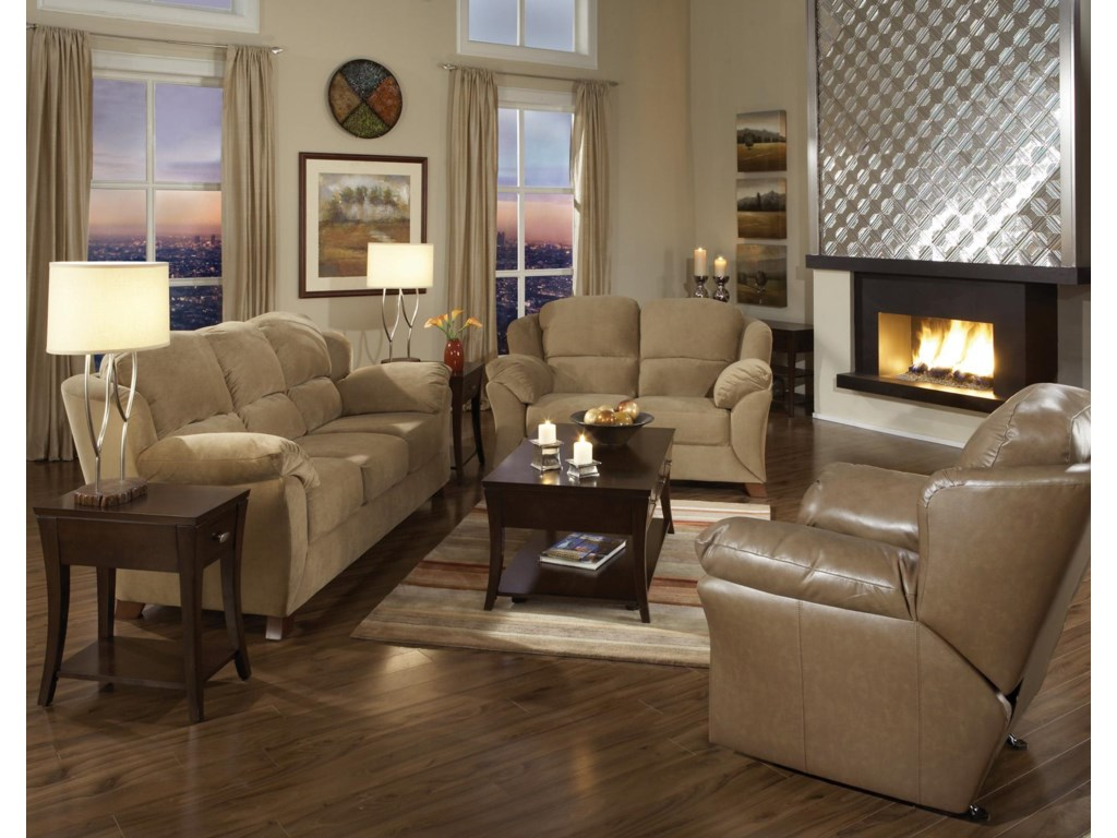 Shown with Coordinating Collection Sofa and Recliner