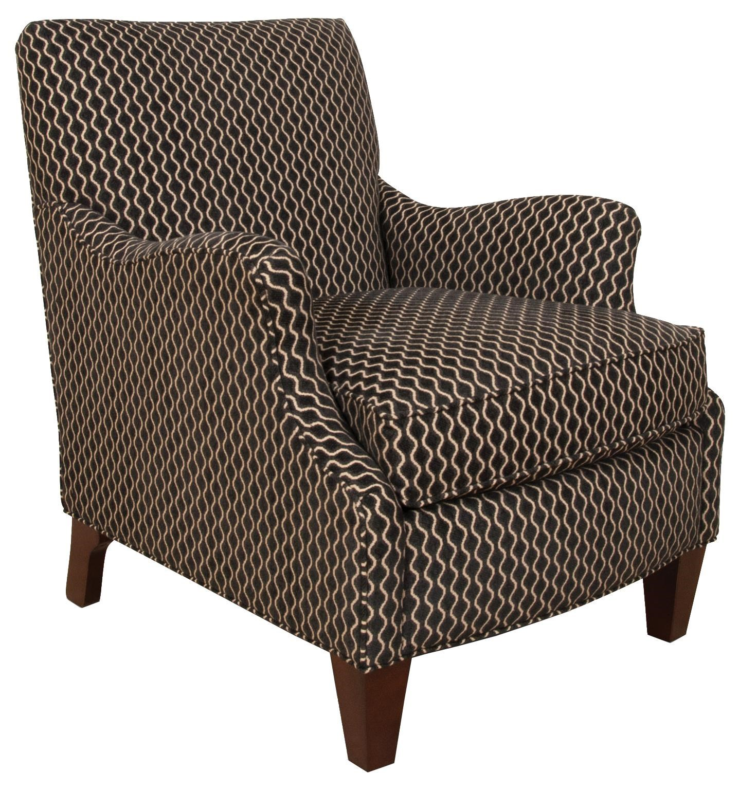 England Gillian 8434 Decorative Accent Chair With Charming Transitional  Style | Great American Home Store | Upholstered Chair