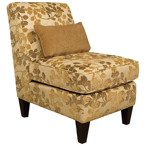 England Glenna Armless Upholstered Chair