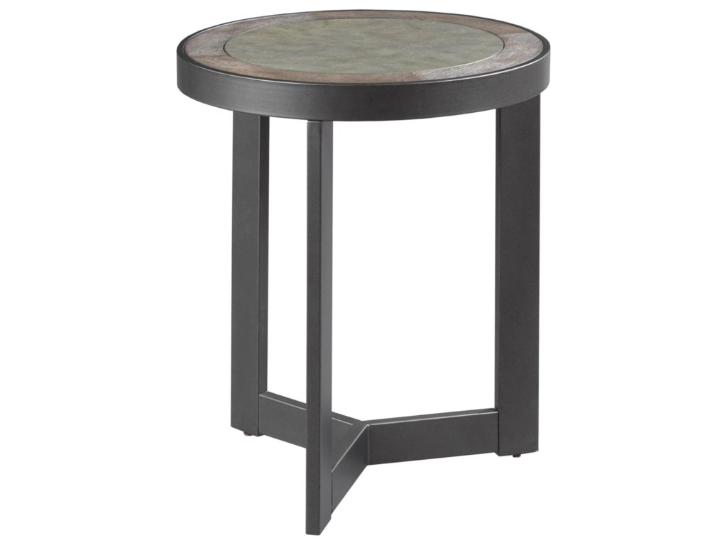 England GraystoneRound End Table