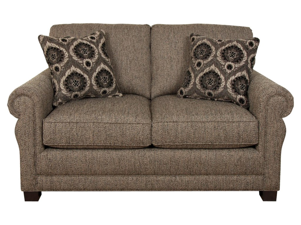 England GreenTwo Cushion Loveseat