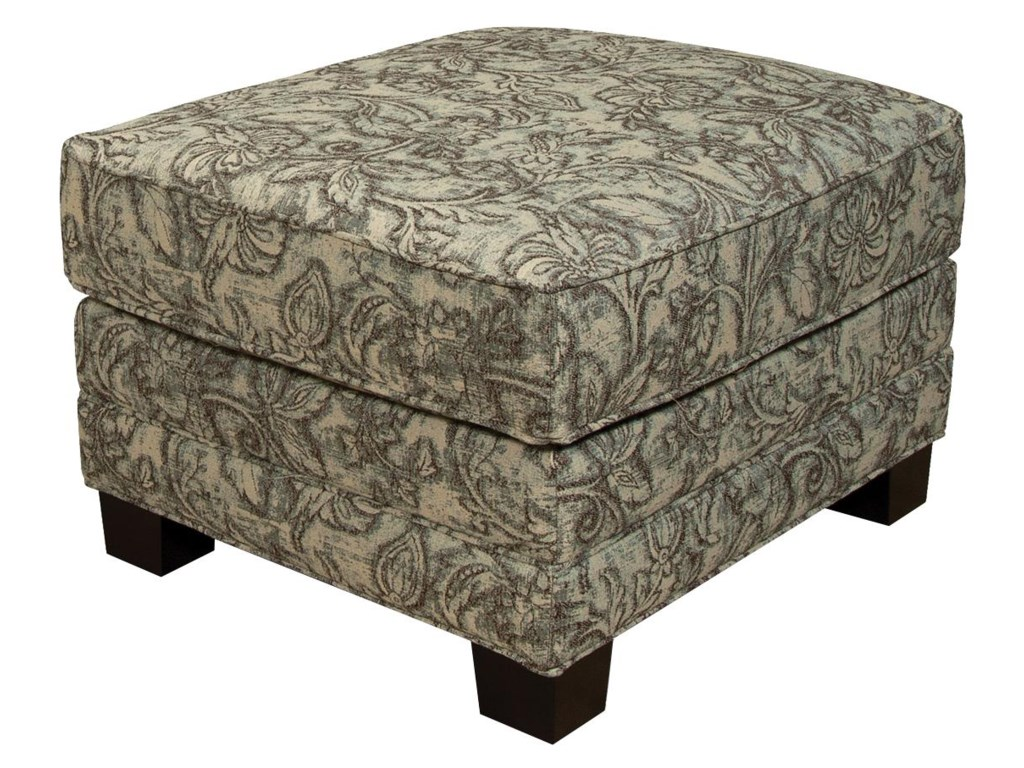 England GreenOttoman for Arm Chair