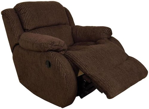 England Hali Casual Styled Minimum Proximity Recliner with Power