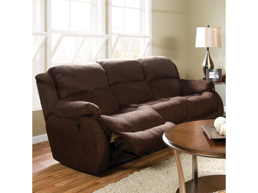 Shown Reclining in Room Setting