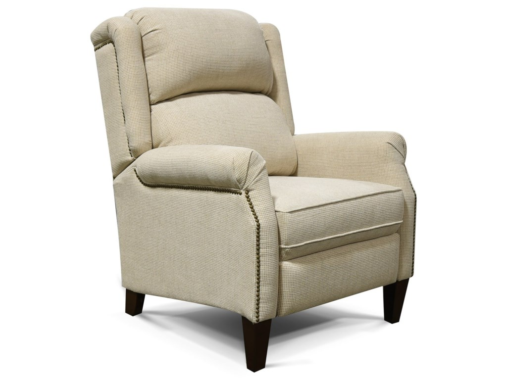 England HelenCottage Styled Recliner with Nail Heads