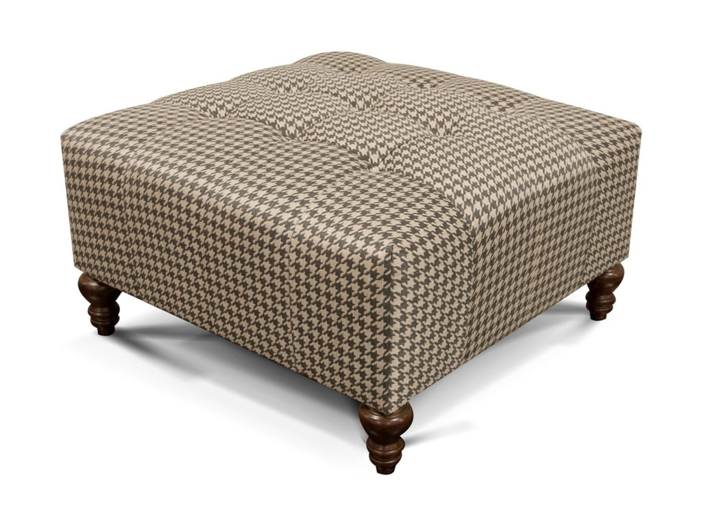 England HemsworthOttoman with Tufted Seat
