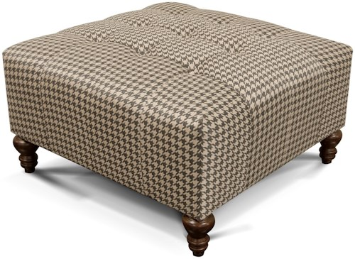 England Hemsworth Ottoman with Tufted Seat