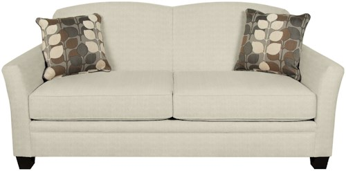 England Hilleary Sofa with Curving Seat Back