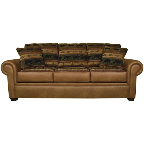 England Jaden Traditional Styled Air Queen Size Sleeper Sofa
