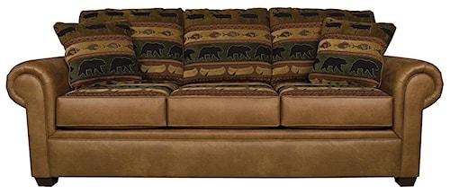 England Jaden Traditional Styled Visco Queen Size Sleeper Sofa
