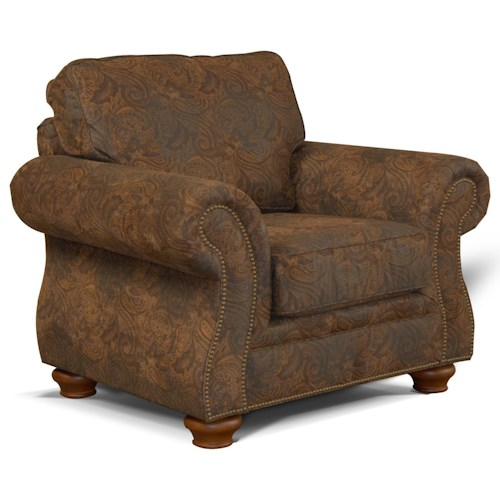 England Jeremie Rolled Arm Chair
