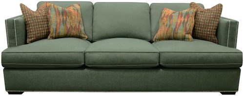 England Keck Transitional Sofa with Nail Head Trim