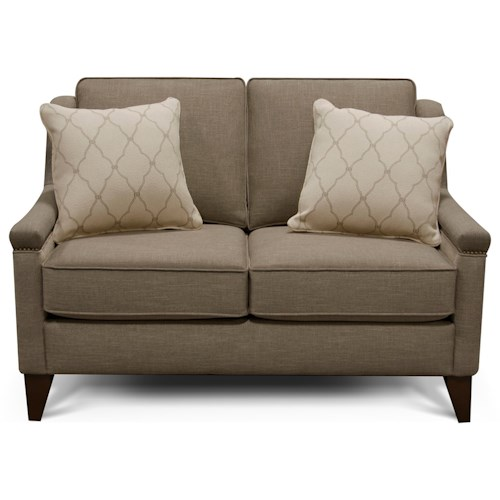 England Kendra Loveseat with Contemporary Style