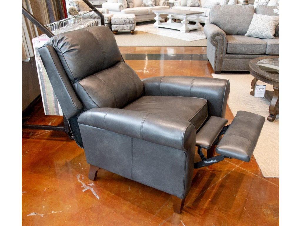England KenzieRevelation Steel Leather Pushback Recliner