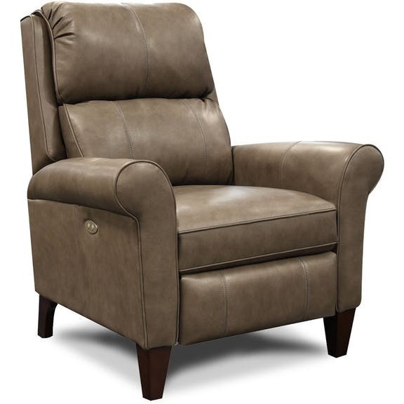 England Kenzie 3D0Leather Reclining Chair