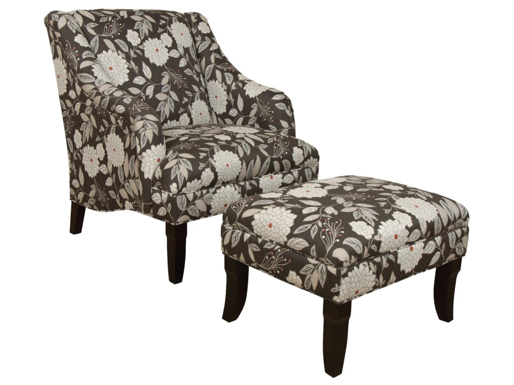 England KinnettChair and Ottoman Set