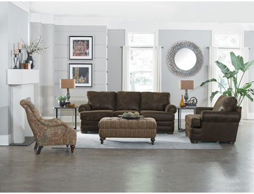 England Knox Stationary Living Room Group   Colder\'s Furniture and ...