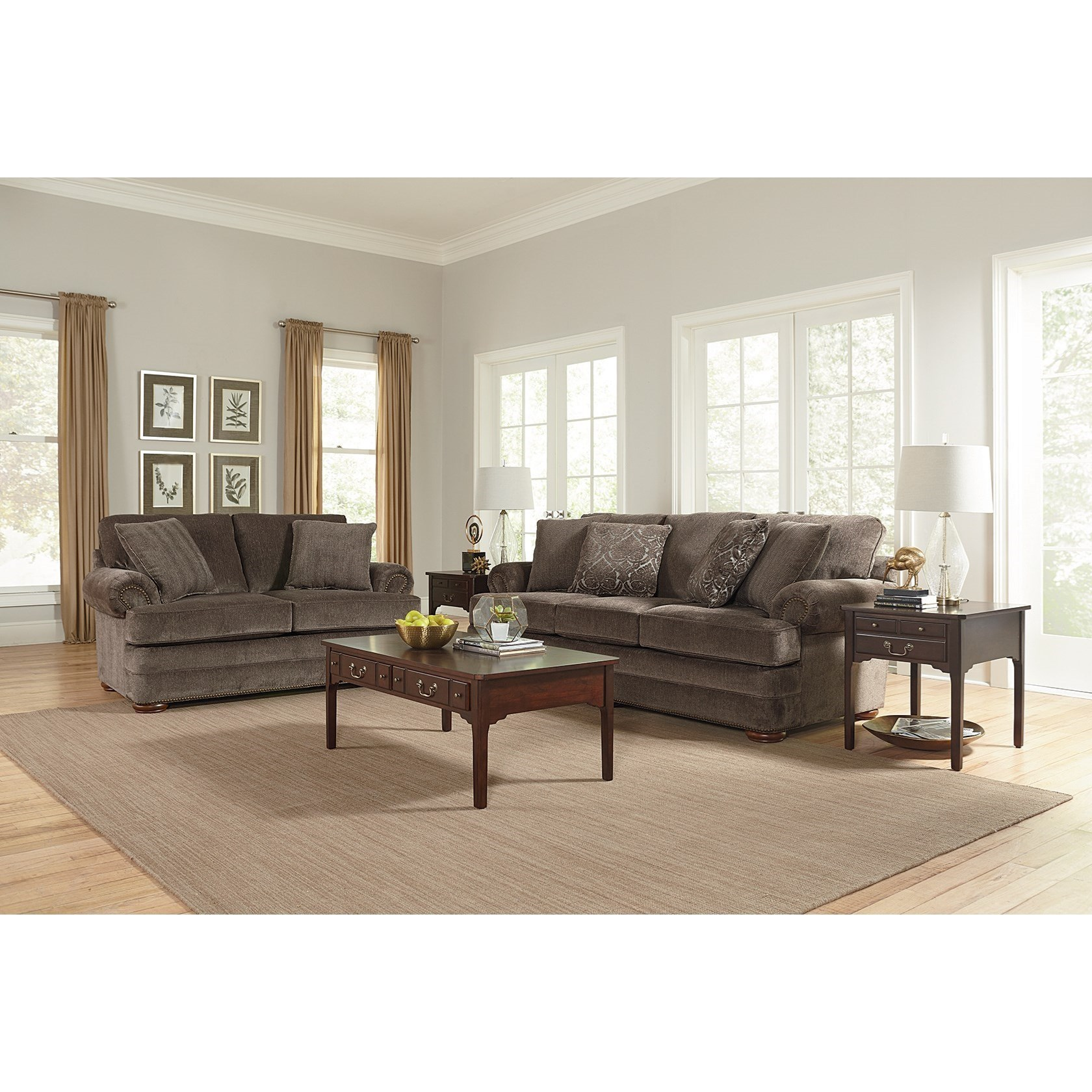 ... England KnoxSofa With Nailhead Trim