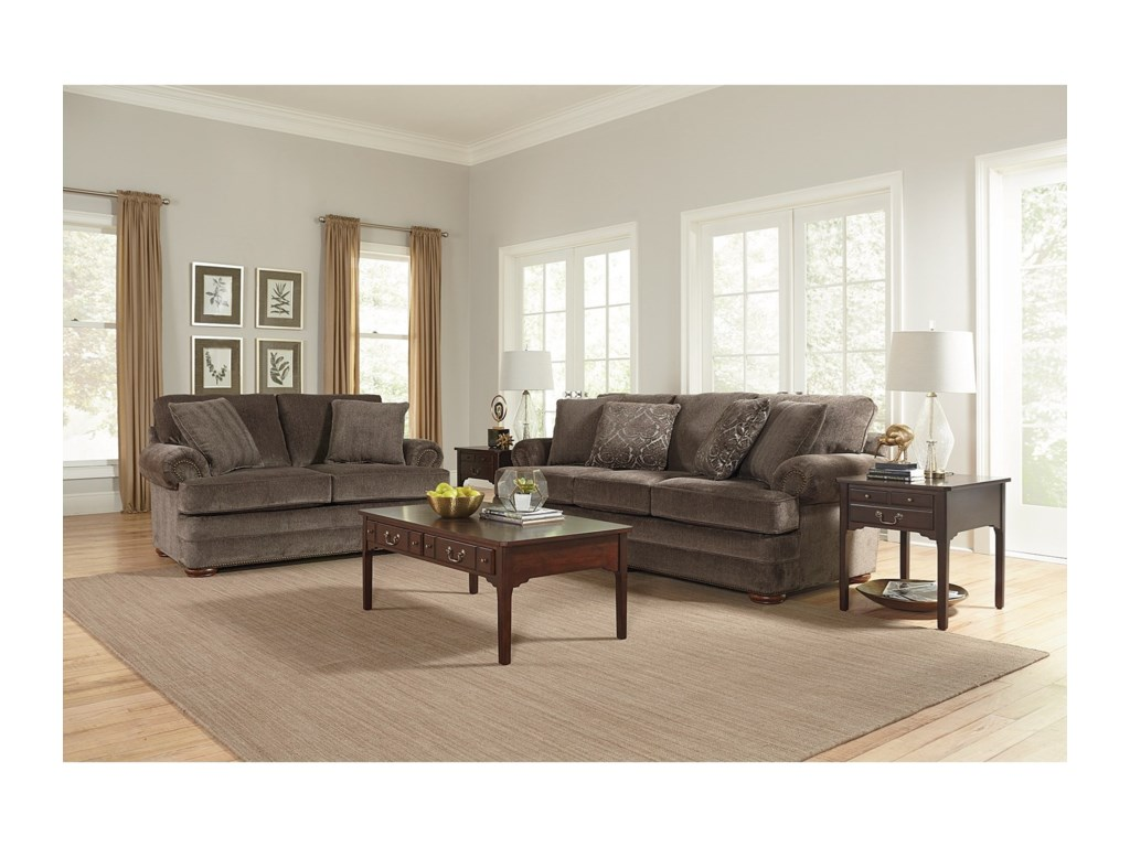 England KnoxLoveseat with Nailhead Trim