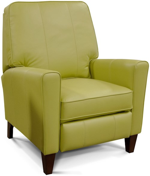 England Lynette Living Room Motion Chair with Wooden Legs