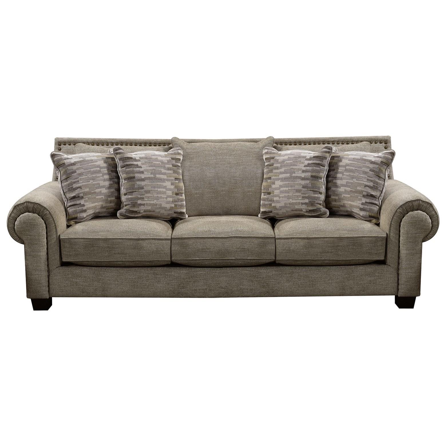 England Larado Transitional Sofa With Nailhead Trim