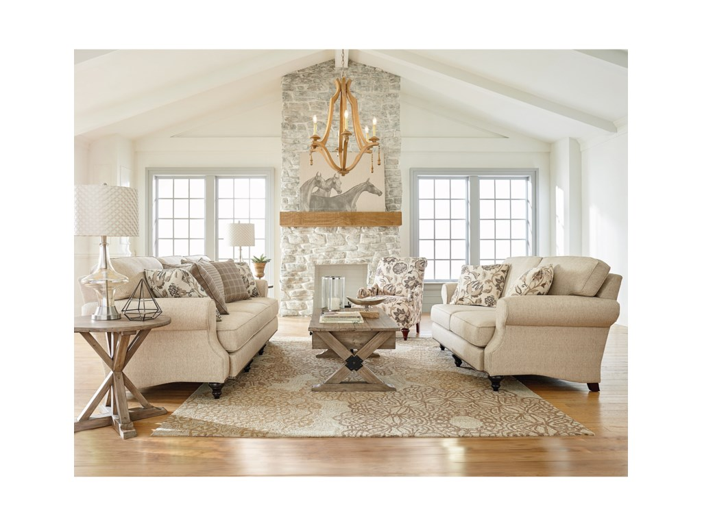 England LaylaStationary Living Room Group