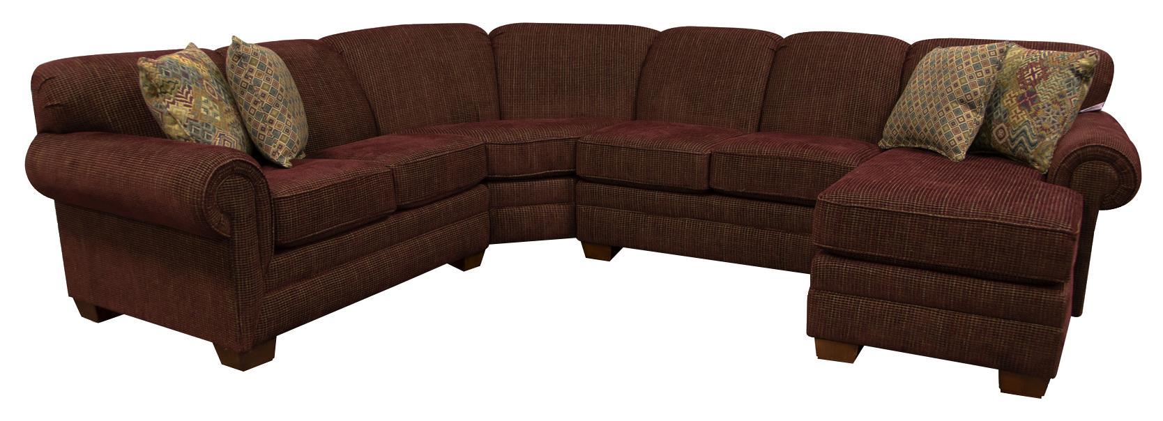 England MonroeSix Seat Sectional Sofa