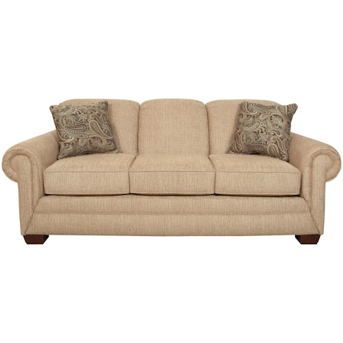 England Monroe Visco Queen Size Sleeper with Traditional Style