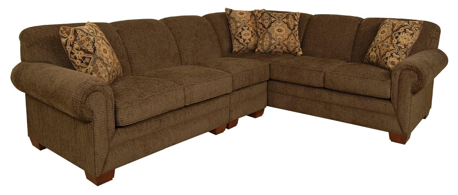 England Leah Five Seat Sectional Sofa