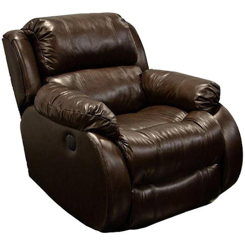 England Litton Comfortable Rocker Recliner with Power