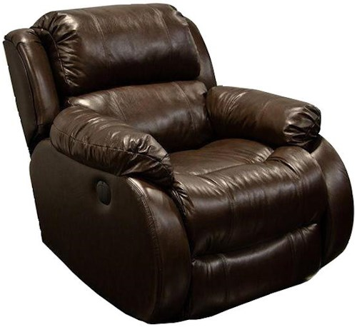 England Litton Leather Rocker Recliner